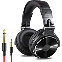 OneOdio Adapter-Free Closed Back Over-Ear DJ Stereo Monitor Headphones, Professional Studio Monitor & Mixing, Telescopic…