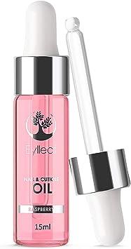 Nail and Cuticle Oil by Eylleaf - Aceite para uñas y cutículas, Vitamina E de aceite de almendras dulces para uñas naturales saludables 15 ml (Frambuesa): Amazon.es: Belleza