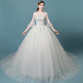 Vestido De Novia, Vestido De Novia Vestidos De Encaje Elegante Vestido De Coctel del Banquete