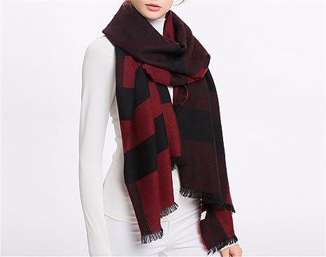 DIDIDD Sciarpa-inverno sciarpa di lana sciarpa signore primavera e scialli  autunno bc86a49ef4be