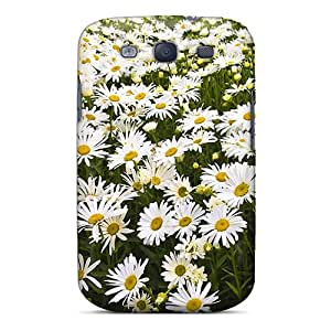 Snap-on Case Designed For Galaxy S3- A Carpet Of Daisies