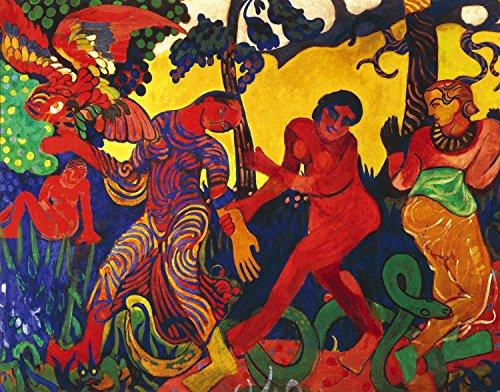 André Derain - The Dance, Size 24x32 inch, Canvas Art Print Wall décor