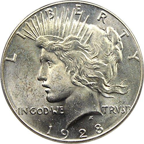 1928 P Peace Dollars Dollar MS63 PCGS (David Lawrence Rare Coins)