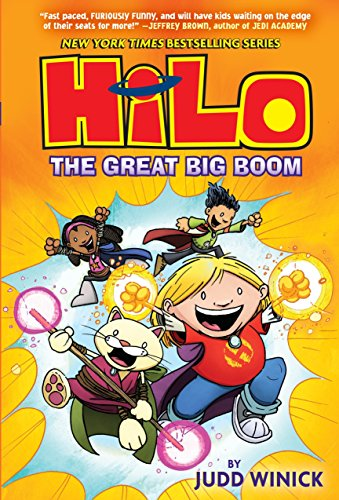 Hilo Book 3: The Great Big Boom (Best Tablet For Reading Manga)