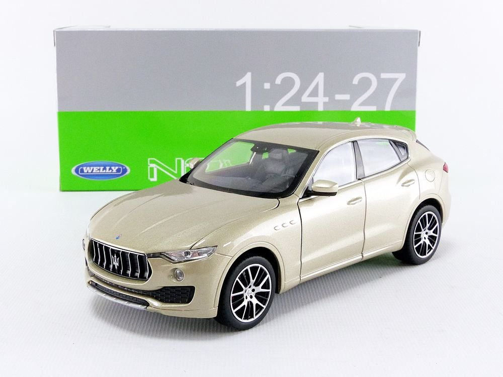 24078/ GD Welly/  / Modellino Auto Maserati Levante 2016/ Scala 1//24 Oro