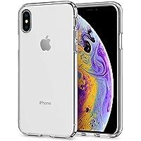 Spigen Liquid Crystal Serisi Kılıf iPhone XS / iPhone X ile Uyumlu / 4 Tarafı Tam Koruma - Crystal Clear