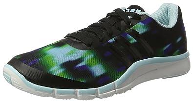 Adidas A.T 360.2 Prima - Zapatillas de Cross Training para Mujer, Color Negro/Azul/Verde, Talla 39 1/3
