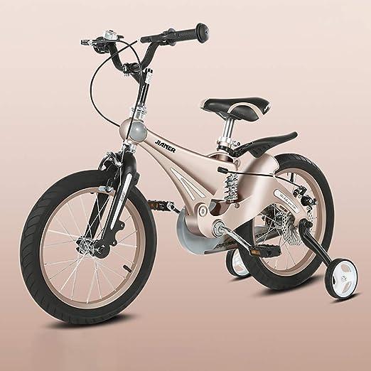 FJ-MC Unisexo Bicicleta de niños Chicas Chicos, 12
