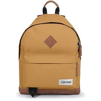 20f0ae228 Eastpak Wyoming, Nylon, Polyester Brown Leather Rucksack Backpack (Leather,  Nylon, Polyester
