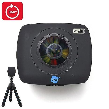NK 360 Cámara Deportiva 2X 360º Ultra HD - 1080p | Batería ...
