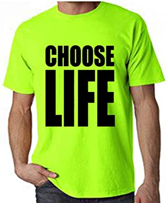 111dbf90 Amazon.com: Tribal T-Shirts Men's Choose Life T-Shirt: Clothing