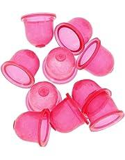 10pcs Burbuja de Aceite Bomba Bulbo Imprimación Para Poulan Walbro 530-035497 188-16 Roja