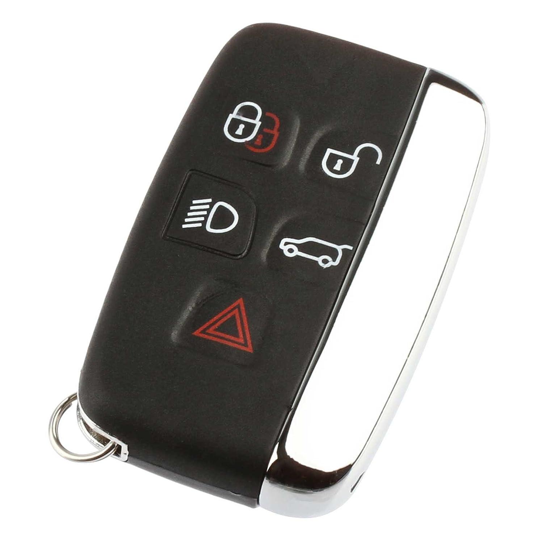 Key Fob Keyless Entry Remote fits Land Rover Range Rover Sport LR2 LR4  Evoque 2012 2013 2014 2015 2016 2017 (KOBJTF10A), Set of 2