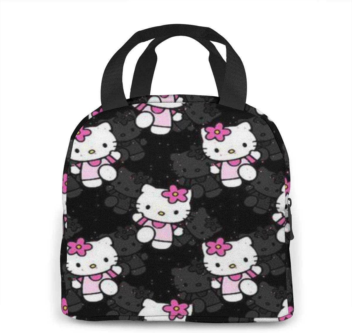 Women Travel Duffel Bag Hello Kitty Handbags weekend trip tote Luggage Shoulder