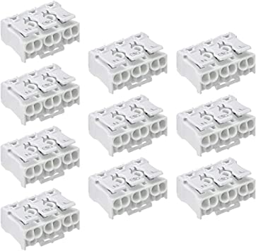 New Wire Connection 12Position Barrier Terminal Strip Block Gn