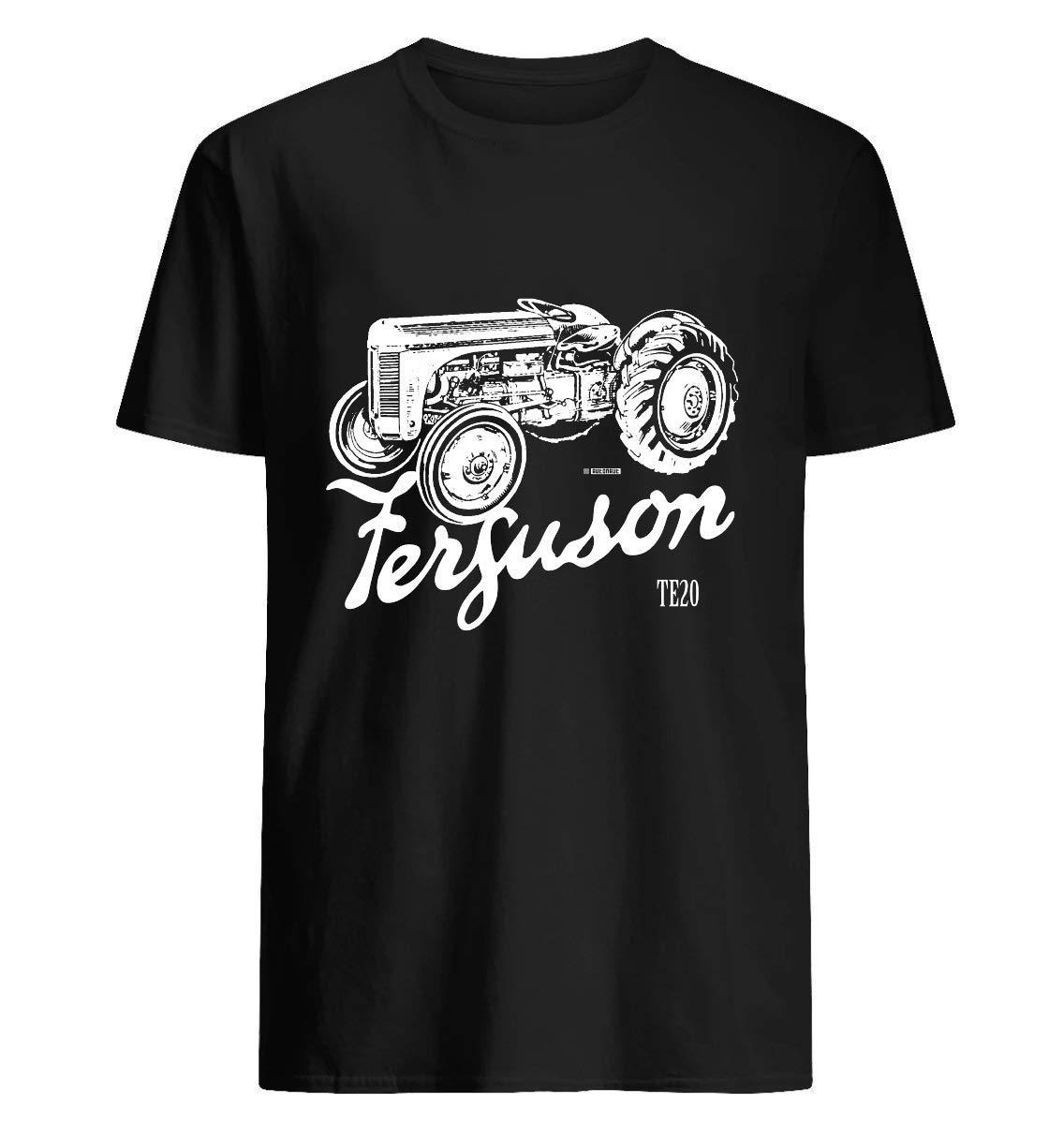 Classic Ferguson Te20 Script And Illustration 84 T Shirt For Unisex