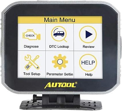 Autool X50 Plus Digitales Auto-Diagnoseger/ät OBD II