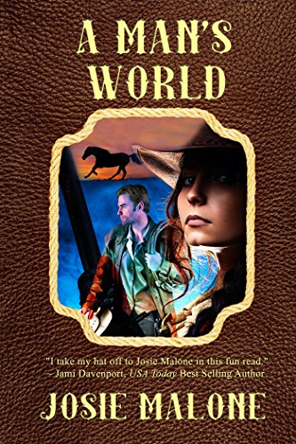It takes an exceptional man to fall in love with a woman as strong as Trace. Is Zeb that man?  Josie Malone's historical western romance A Man's World