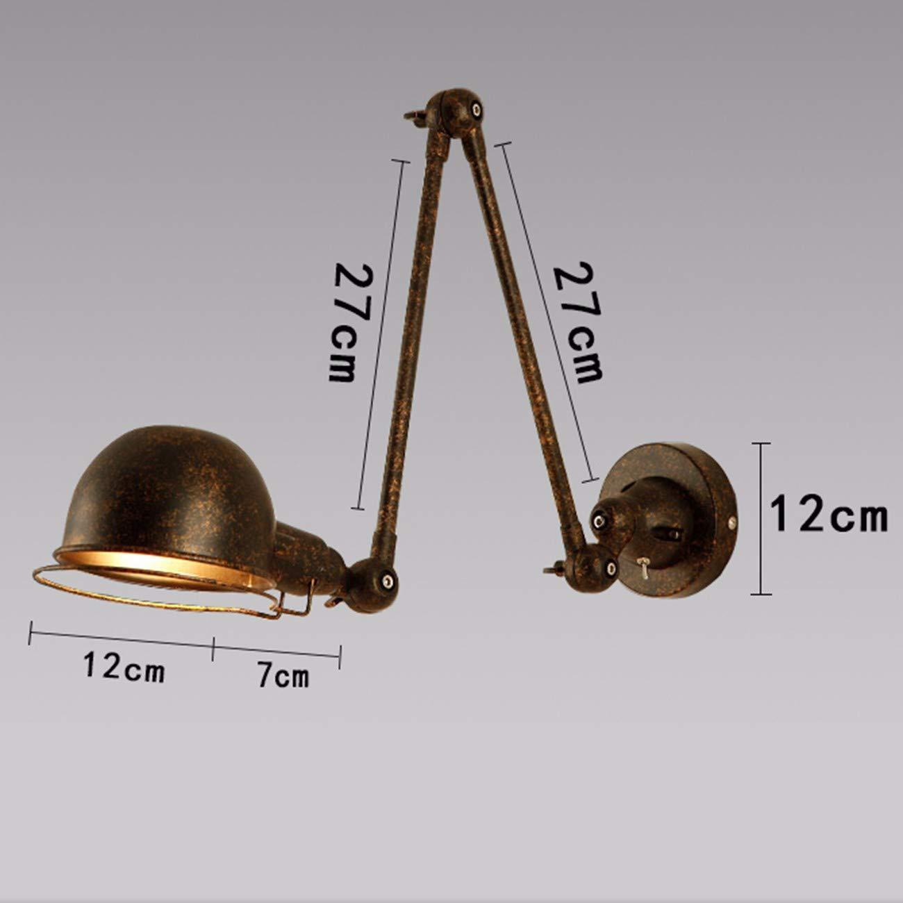 Wandleuchte Wall Lamp Individualität Originalität, Bett - Teleskop Dekorative Augenschutz Lampe,C