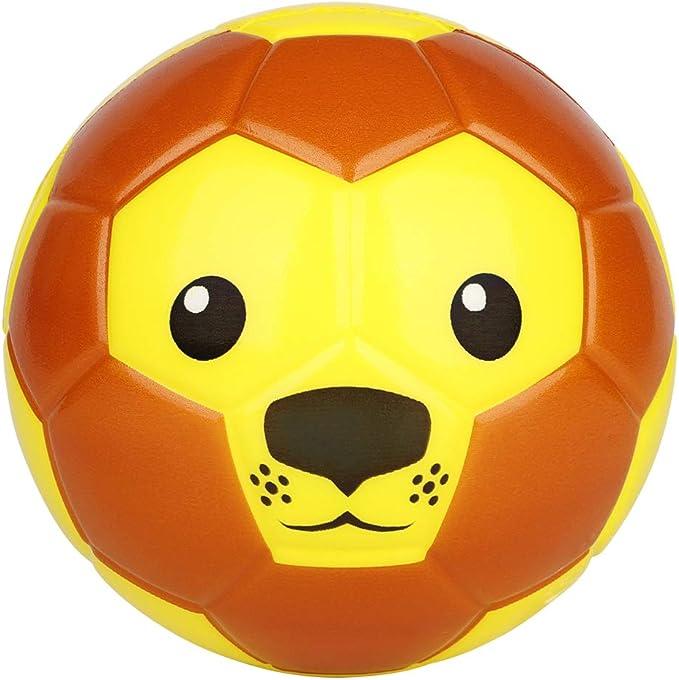 Dellop Pelotas de fútbol de Espuma de 6 Pulgadas con Mono Adorable ...