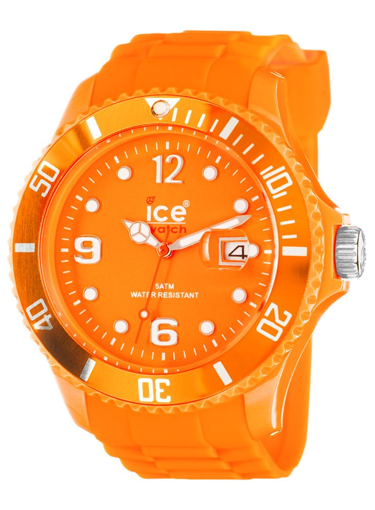 Ice-Watch Ice-Summer Sili Collection Polyamide and Silicone Orange Mens Watch SS.FO.B.S.11