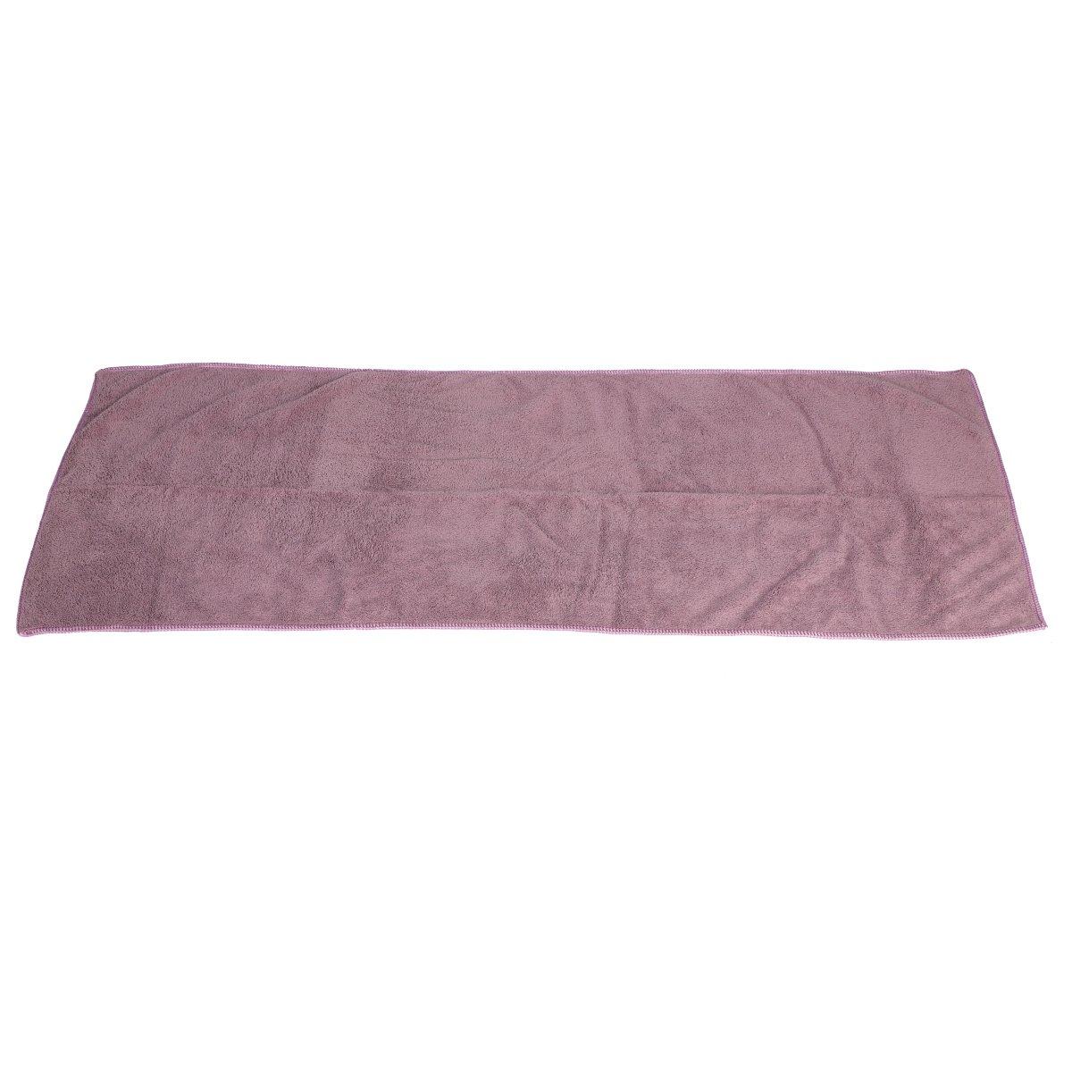 LONTG Toalla de baño (terciopelo de coral - Juego de 1 toalla 34 * 85 cm y 1 toallas de baño y playa 75 * 150 cm dulce confortable piscina gimnasio, gris, ...