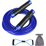 KINCREA Weighted Jump Rope for Men Women