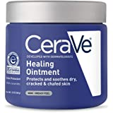 CeraVe Healing Ointment | 12 Ounce | Cracked Skin Repair Skin Protectant with Petrolatum Ceramides | Lanolin & Fragrance…