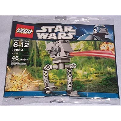 LEGO Star Wars: Mini AT-ST Walker Set 30054 (Bagged): Toys & Games