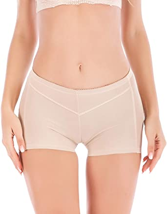 Womens Lace Butt Lifter Boy Shorts Body Shaper Enhancer Panties Tummy Control Brief Shapewear