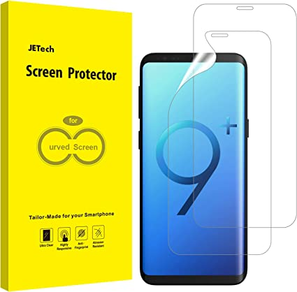 JETech Protector de Pantalla Compatible Samsung Galaxy S9 Plus S9+ ...