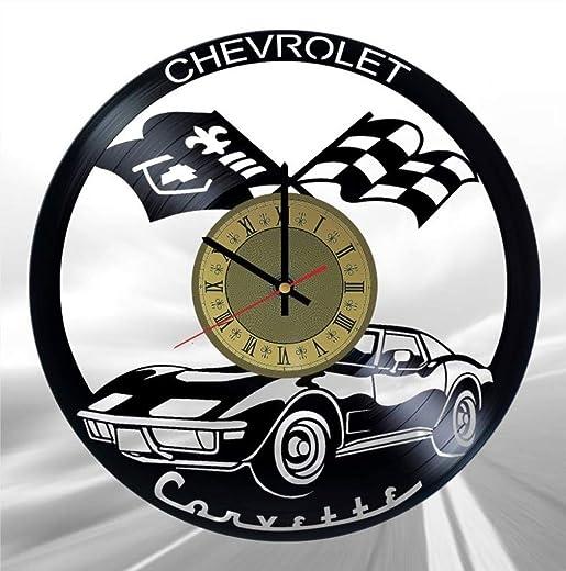 Chevrolet Corvette C3 Vinyl Clock Legendary Retro Convertible Best Gift for Automobile Fans Original Wall Home Decor