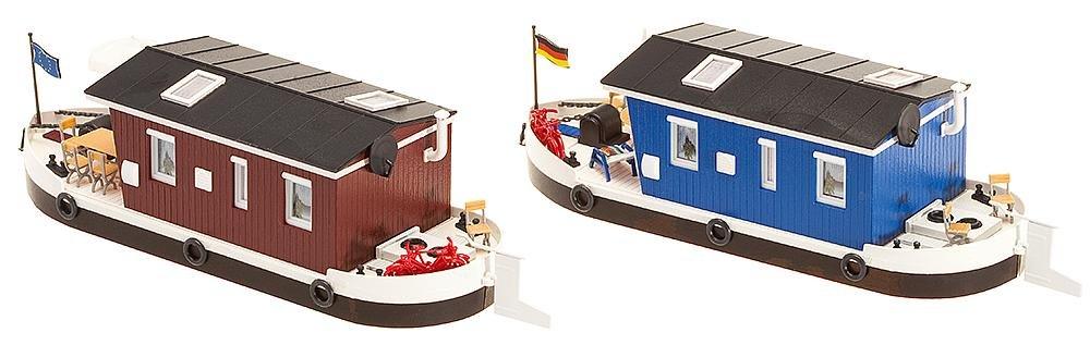 Faller 131008 Houseboat 2//HO Scale Building Kit