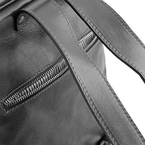 Tuscany Leather - Bangkok- Sac à dos en cuir porte ordinateur - Rouge