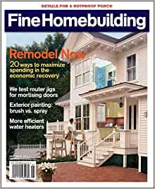Fine homebuilding magazine the rotproof porch tech for Fine homebuilding magazine