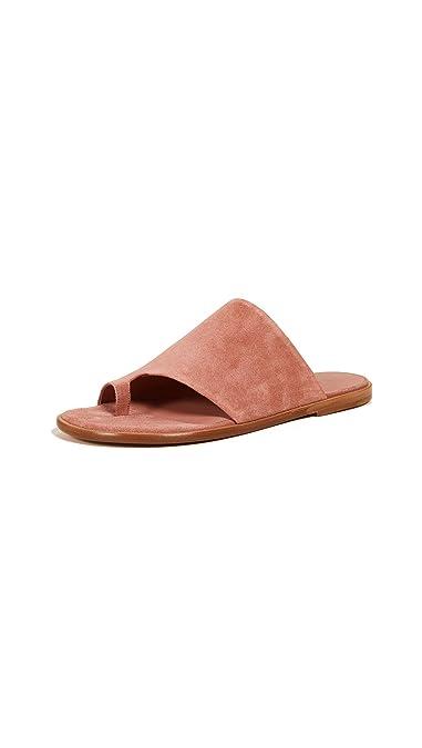 9eedca4dd16 Amazon.com  Vince Women s Edris Toe Ring Slide Sandals  Shoes