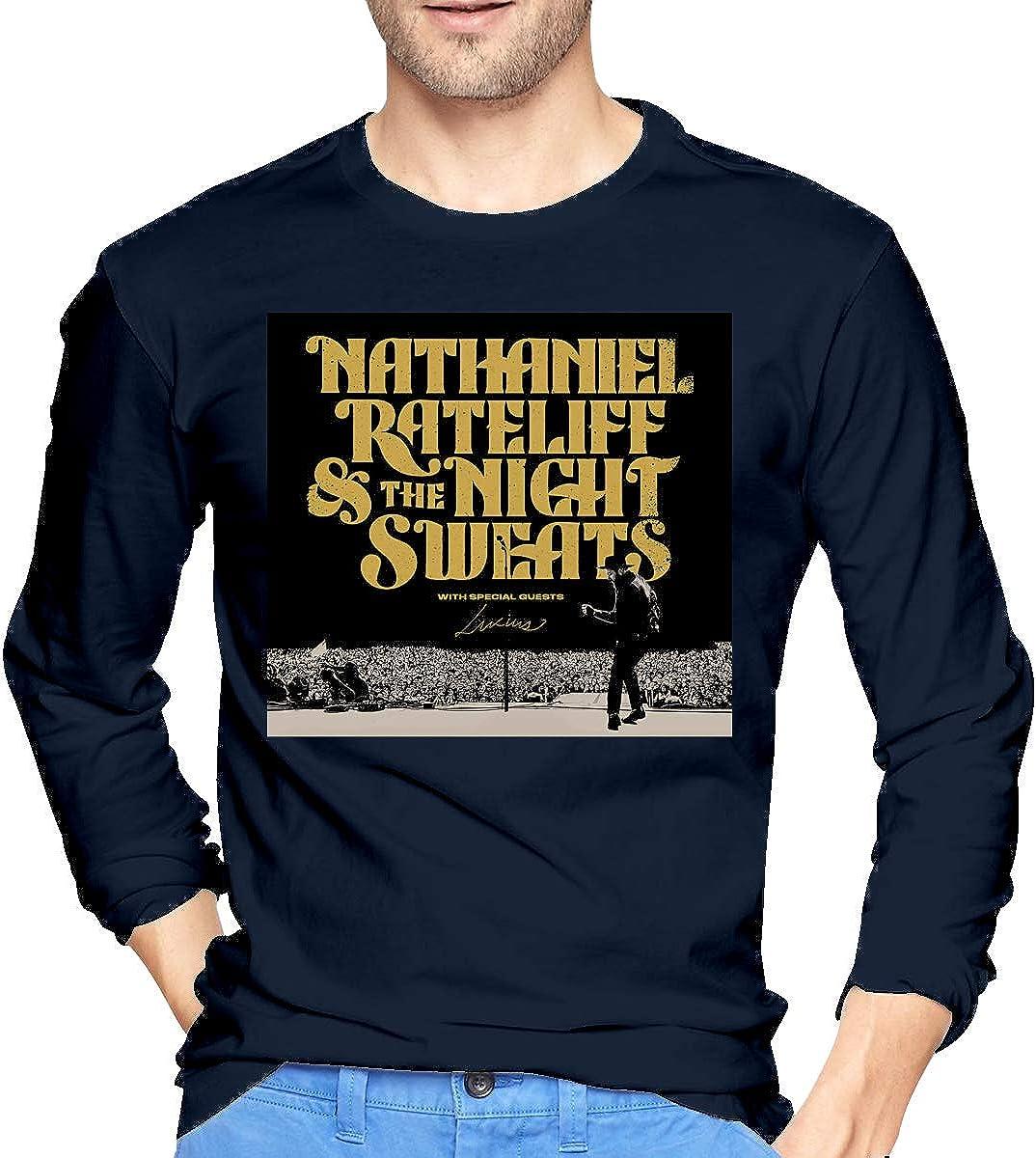 Nathaniel Rateliff /& The Night Sweats Mens Round Neck T-Shirt