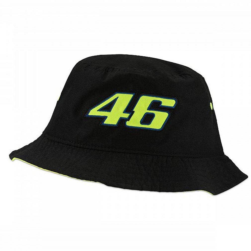 Valentino Rossi VR46 Moto GP The Doctor Bucket Hat Black Official 2018
