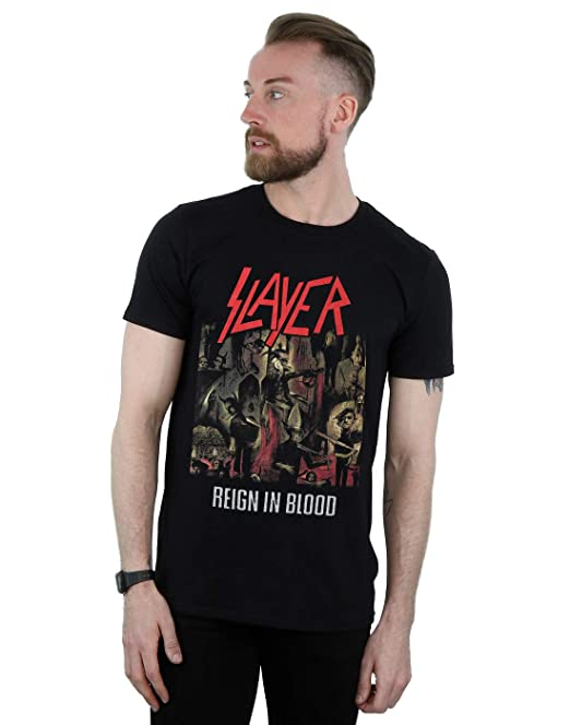 Slayer Blood Hombre es Y Amazon Accesorios Camiseta Reign In Ropa rxrqBgwZ