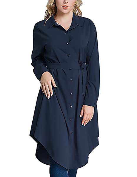 Camisas Mujer Manga Larga De Solapa Vintage Estilo Etnicas Informal Casual Elegantes Suelto Irregular Spring Otoño