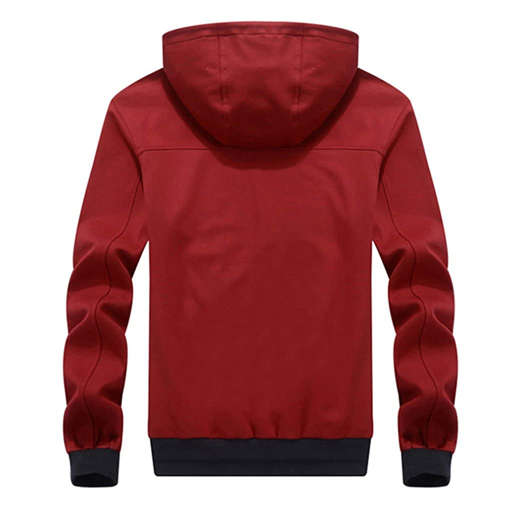 3e5a89b0040 Manluo Men s Jogging Suit Sports Tracksuit Plus Size Sweatshirt Cardigan at Amazon  Men s Clothing store