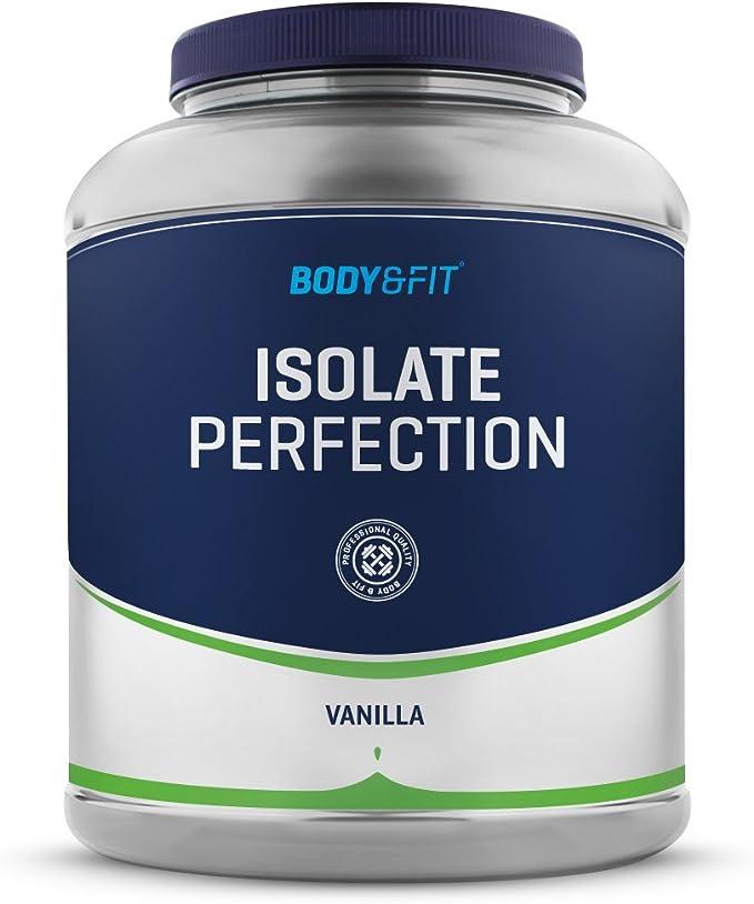 Body & Fit Isolate Perfection Sensación vainilla 2000 gramos (71 batidos)