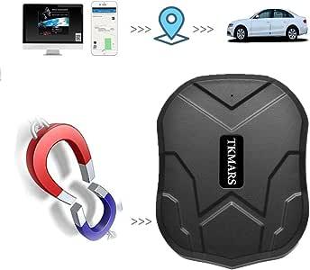 Hangang Coche GPS Tracker Para Vehículos 5000 Mah 90 Días Larga Espera Gsm Dispositivo De Seguimiento En Tiempo Real Resistente Al Agua Cae Alarma Con Fuerte Imán, En Tiempo Real GPS Vehículo