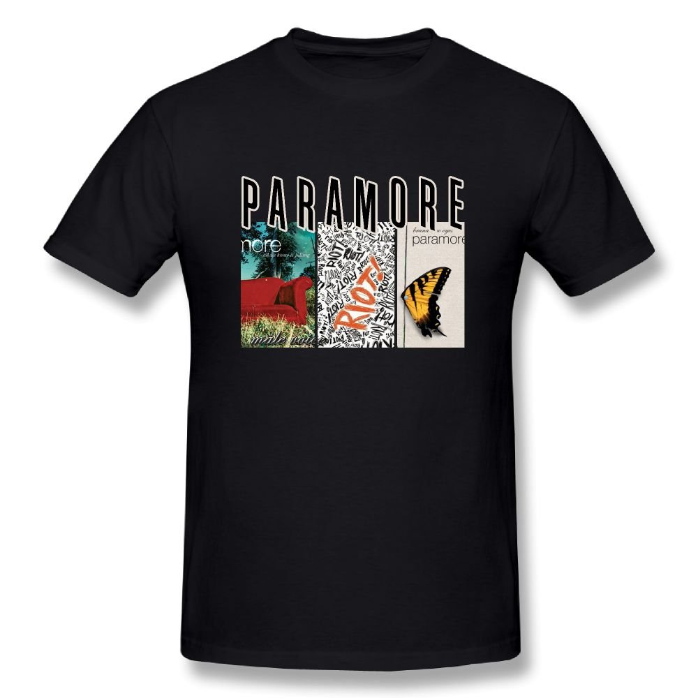 Matta Paramore All We Know is Falling Misery Business Brand New Eyes Men's Tees Black M by Matt Alexanderyth (Image #1)