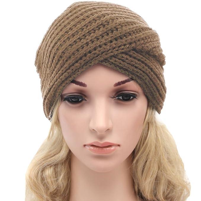Leier Women Headwear de la yoga que hace punto la venda del ...