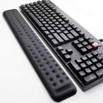 Comfy Soft Memory Foam Gel Padding Non-Slip Large Keyboard Wrist Hand Elbow Palm Support Pad Black Keyboard Wrist Rest BRILA Upgraded Ergonomic Keyboard Wrist Rest Support Cushion Pad