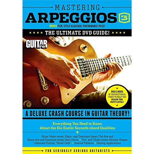 Ash Deluxe Guitar - Guitar World -- Mastering Arpeggios, Vol 3: The Ultimate DVD Guide! A Deluxe Crash Course in Guitar Theory! (DVD)