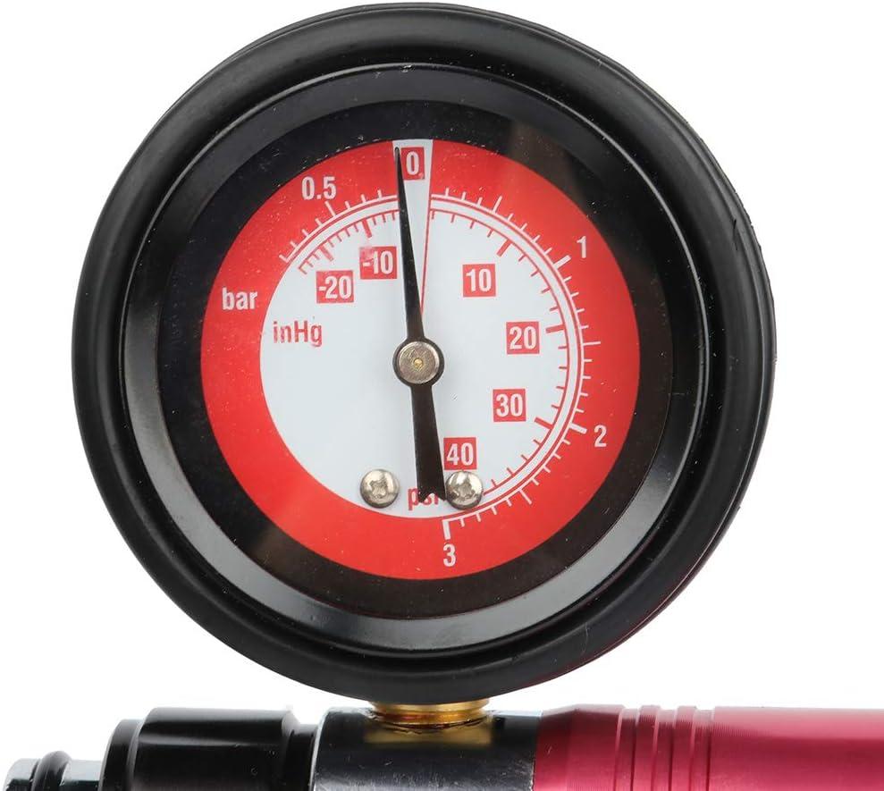 cciyu Automotive Repair Tools Hand Held Vacuum Pressure Pump Tester Tool Set Brake Fluid Bleeder Kit fit for Most Modern Vehicls and Trucks