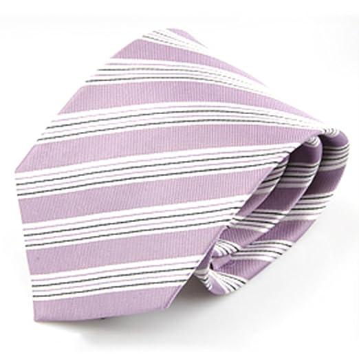Junjiagao Corbata de los Hombres Formal Pale purpurino Profesional ...