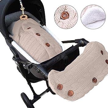 wickel warm kleinkind schlafsack knited decke kinderwagen wickeln baby